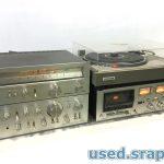 レトロ オーディオ機器